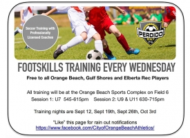 Youth Soccer Clinics Fall 2018