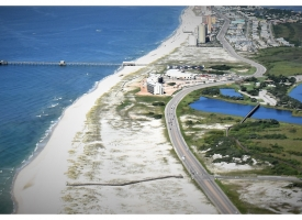 Gulf State Park aerial photo, August 2018