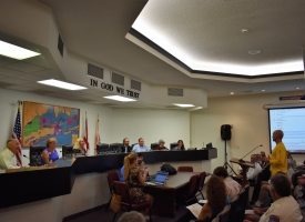 Orange Beach City Council meeting, 9.11.2018