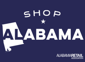 Shop Alabama sign