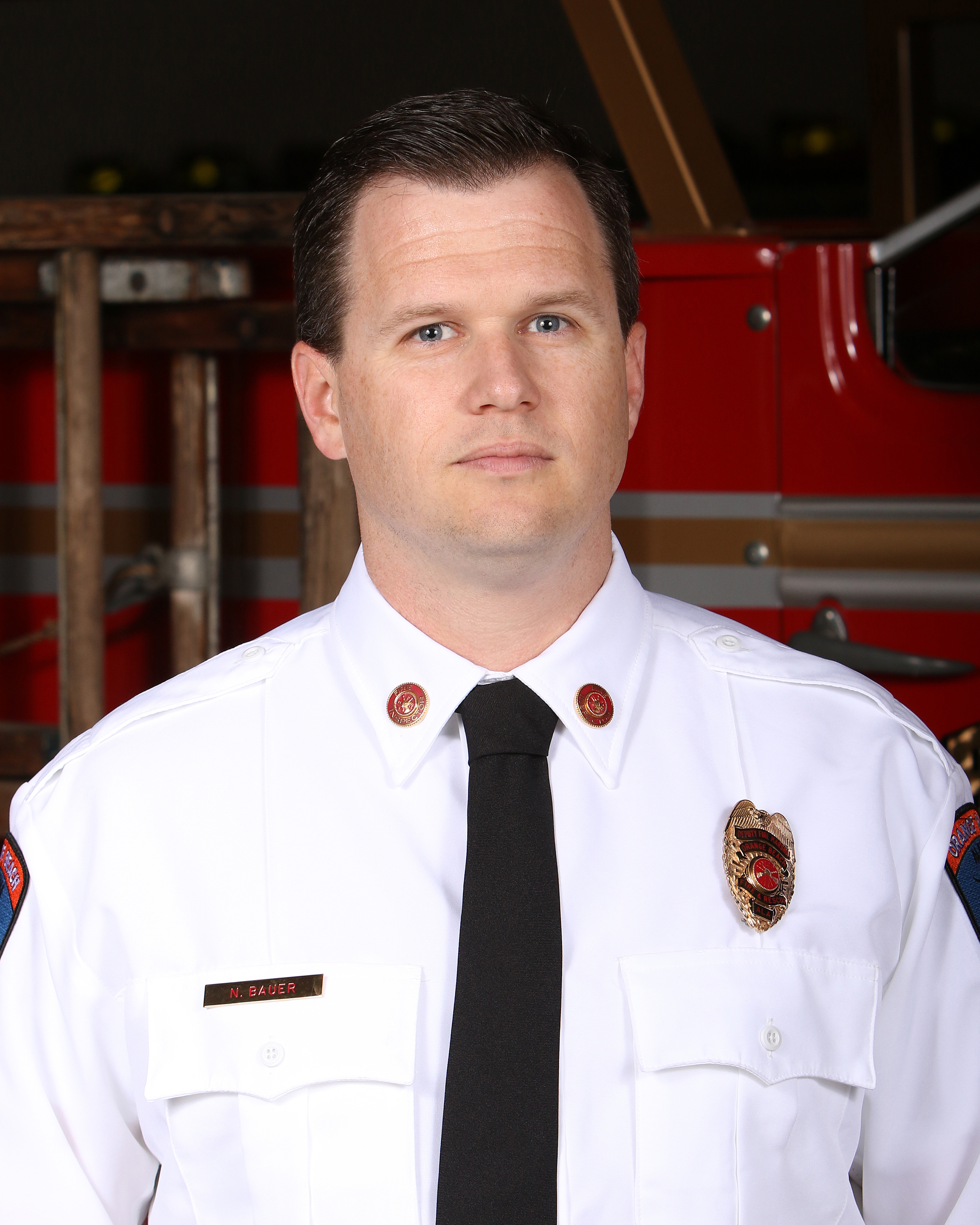 Orange Beach Deputy Fire Marshal Nelson Bauer