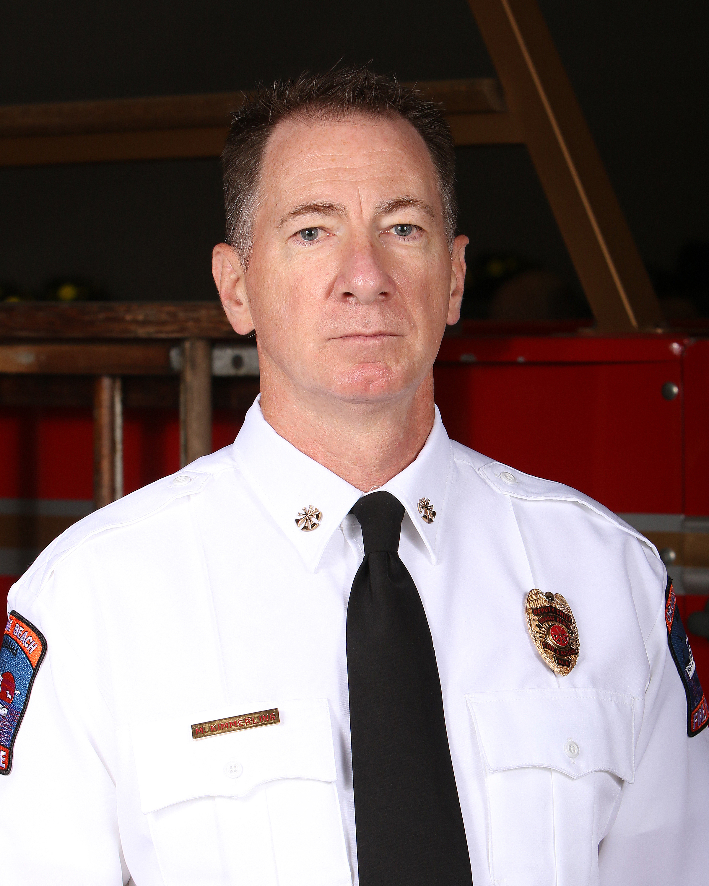 Interim Orange Beach Fire Chief Mike Kimmerling