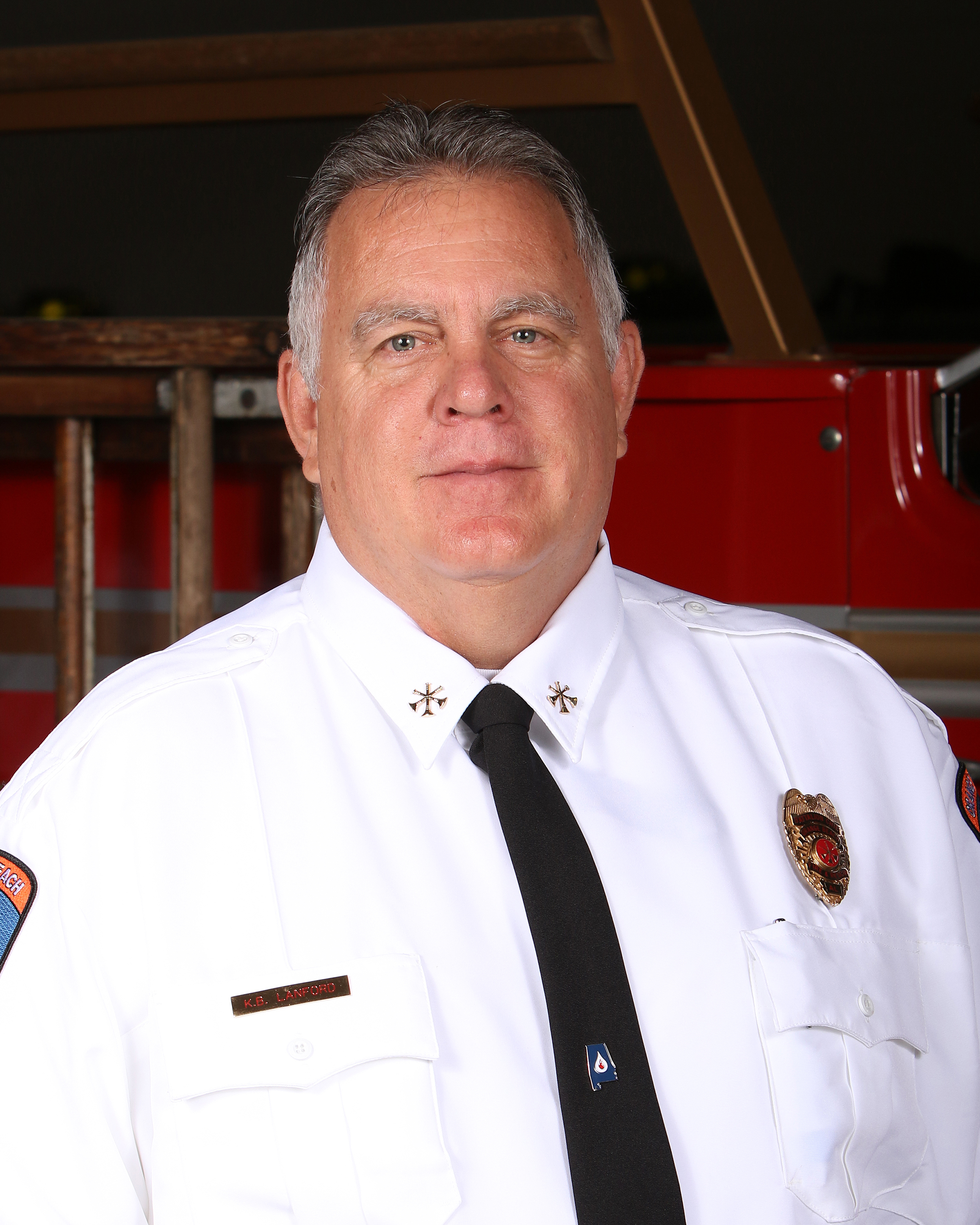 Orange Beach Fire Department Assistant Chief of Training Kevin Lanford