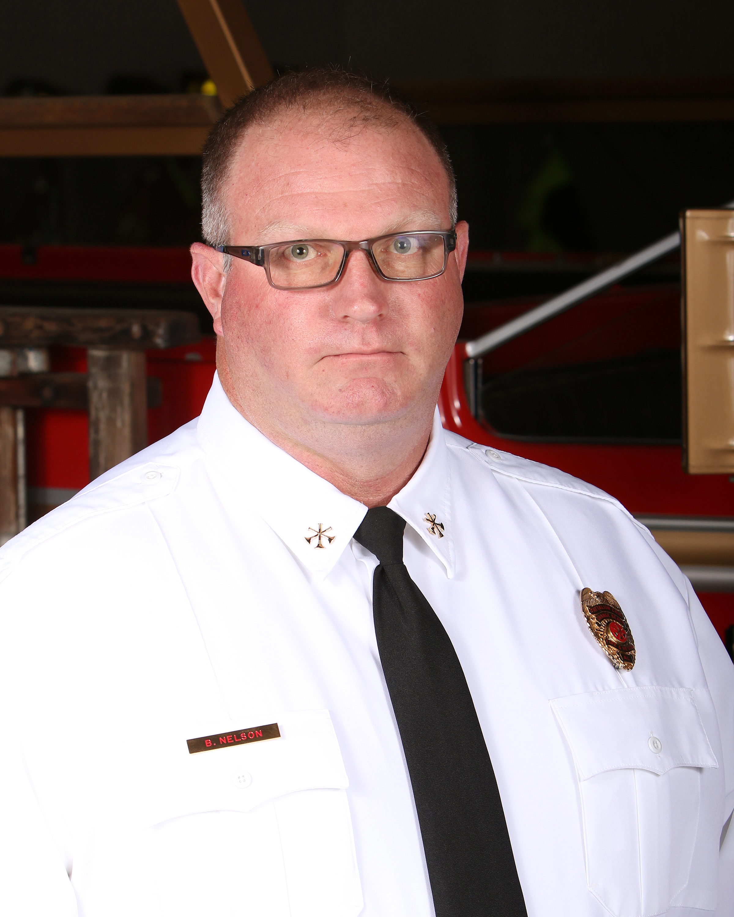 Orange Beach Fire Battalion Chief Bruce Nelson