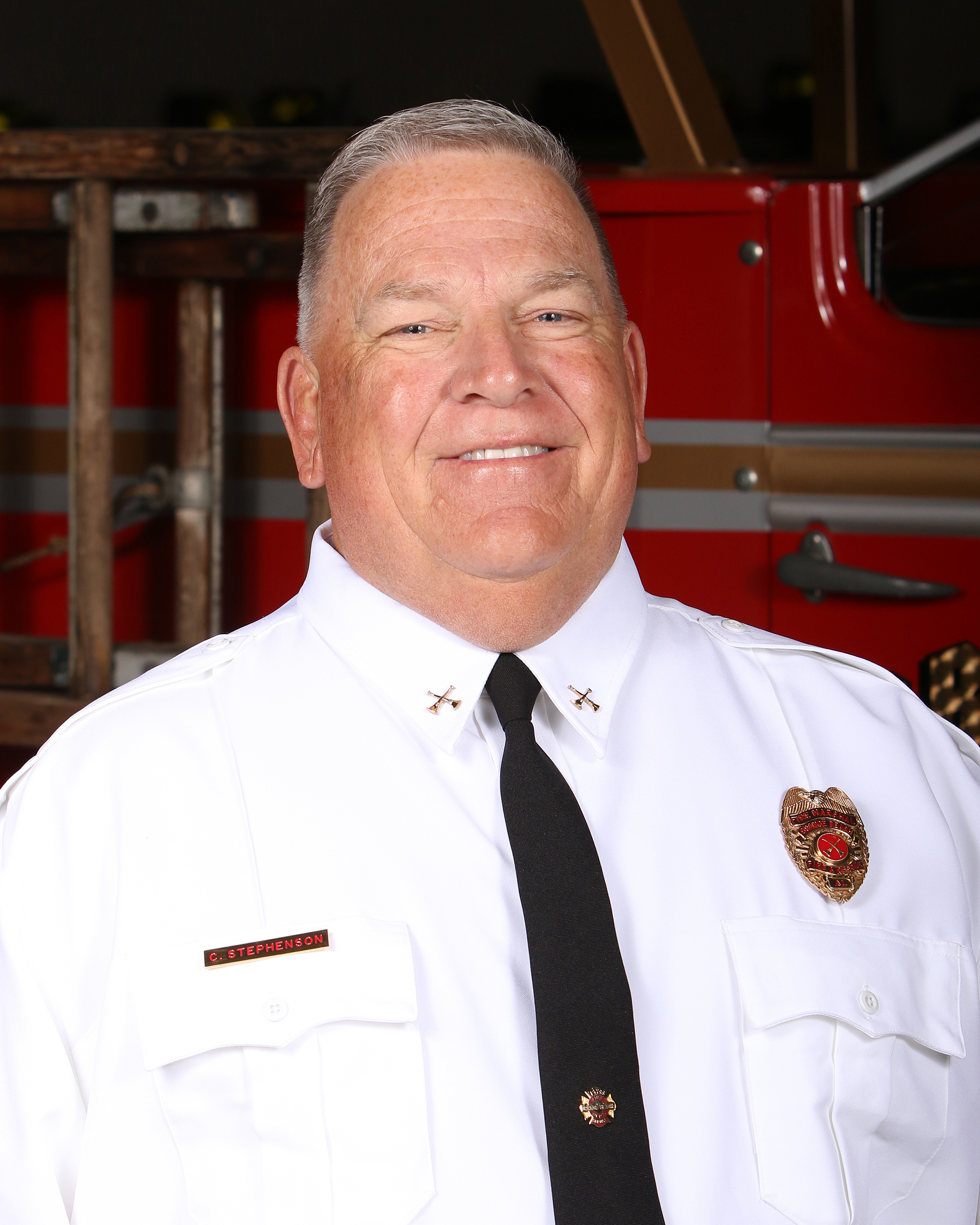 Orange Beach Fire Marshal Craig Stephenson
