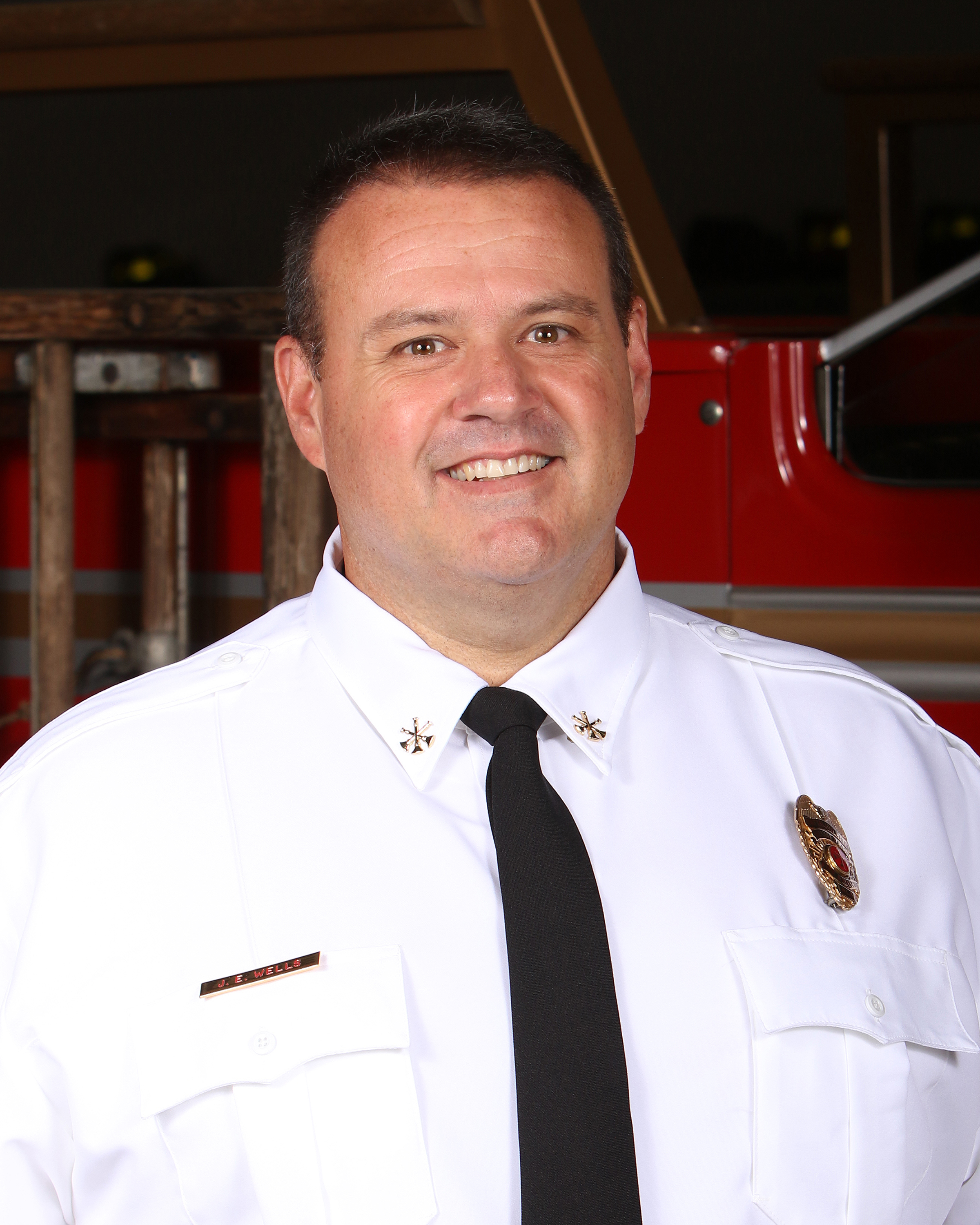 Orange Beach Fire Battalion Chief Jonathan Wells