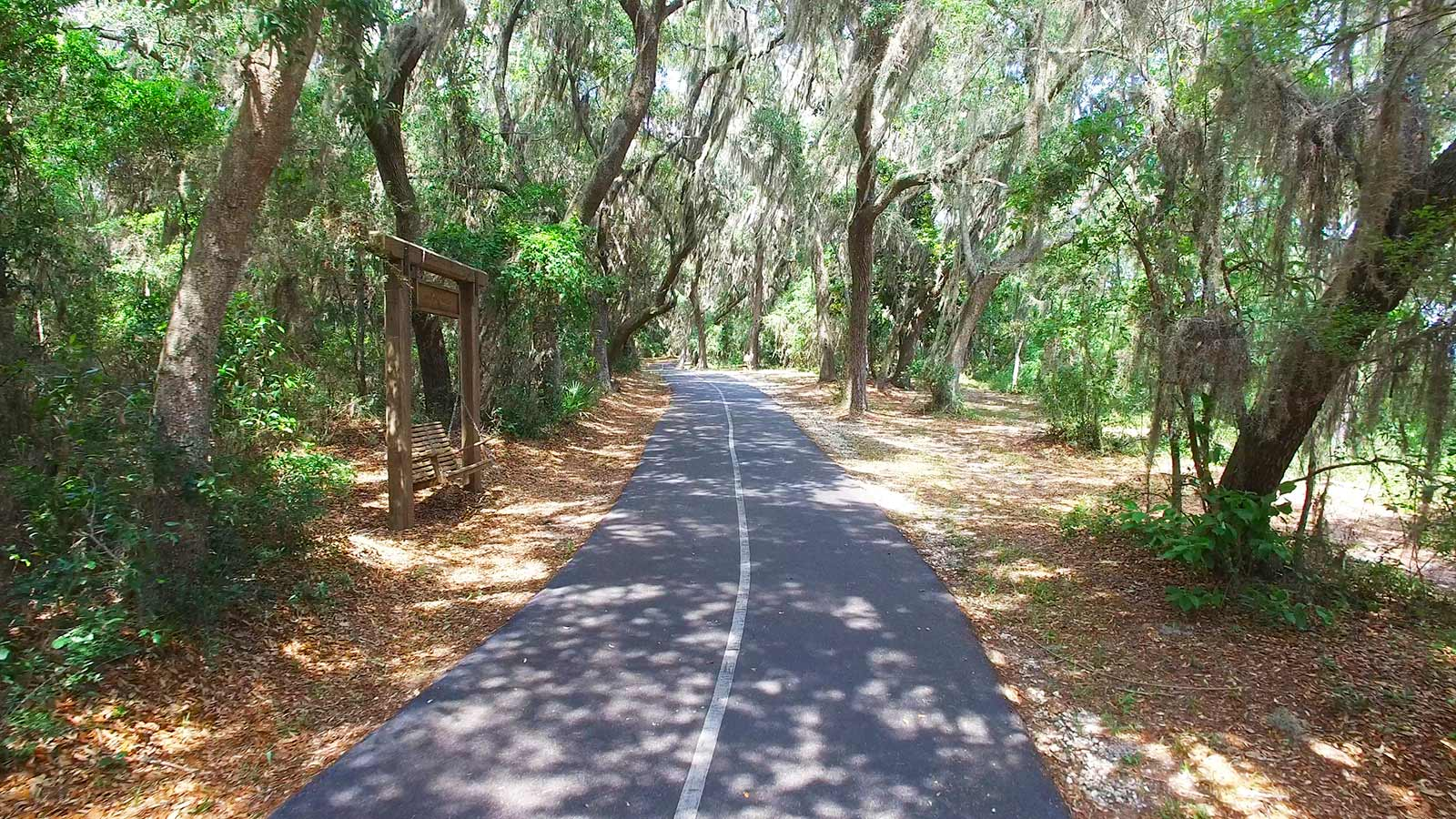 Backcountry Trail winds through Gulf State Park
