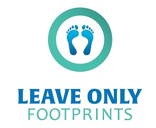 Leave Only Footprints logo