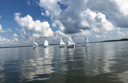 Sail Camp as part of City of Orange Beach Wind & Water Learning Center