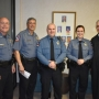 New Orange Beach Police Officers Michael Dean and Abby Headley introduced