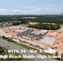 Week 49 aerial photo of Orange Beach school construction site, May 3, 2019