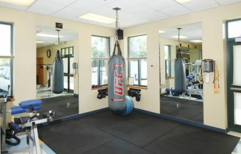 Photo of boxing bag at Orange Beach Recreation Center