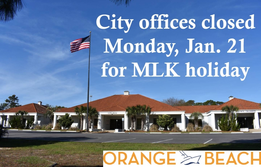 City Offices Closed Graphic 2019 MLK holida