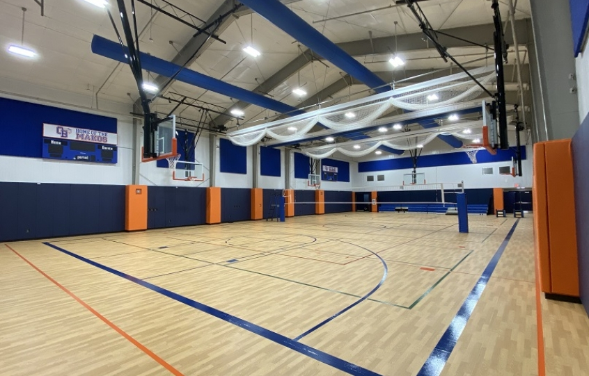New gymnasium at Orange Beach Recreation Center