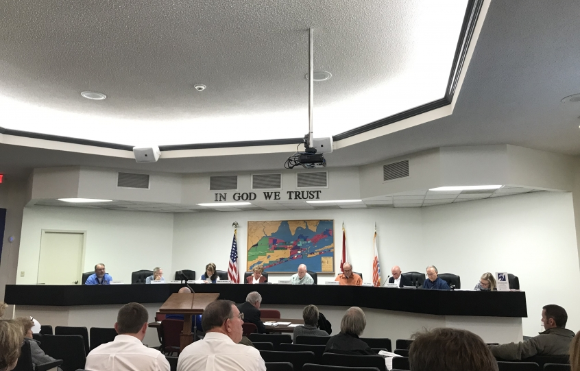 Orange Beach Planning Commission photo taken on January 14, 2019.