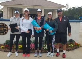 6.5 Women winners 2019 Al Peck Century Doubles Tennis Tournament, 3.16.2019