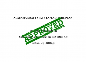Alabama Draft State Expenditure Plan approved