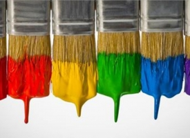 Paint brushes for art