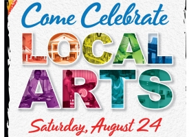Celebrating Local Arts poster