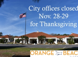City offices closed Nov. 28-29, plus half-day Nov. 27, for Thanksgiving holiday 2019