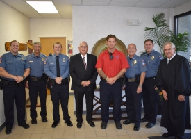 New Orange Beach police officers sworn in