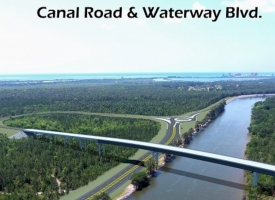 Intracoastal Waterway bridge conceptual design