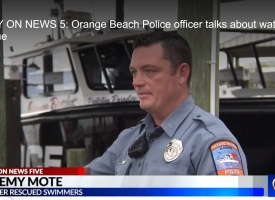Jeremy Mote on WKRG report for lifesaving actions, 6.14.2018