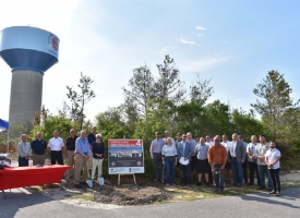 Groundbreaking ceremony held for Ono Island Fire Station No. 4