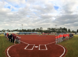 Orange Beach Youth Baseball and Softball Opening Day 2018