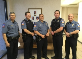 Orange Beach police chief announces three promotions