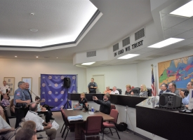 Orange Beach City Council meeting, 8.21.2018