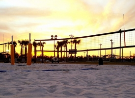 Orange Beach Sand Volleyball Court