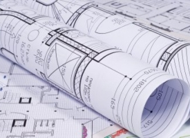 Planning and zoning generic image of blueprints