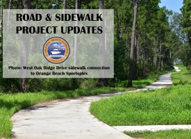 City of Orange Beach Road and Sidewalk Project Updates - August 16, 2019