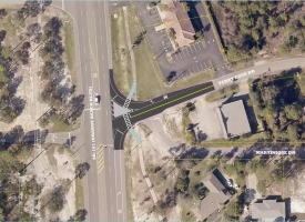 Terry Cove Drive intersection improvement at 161