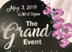 The Grand Event set May 3, 2019 at Coastal Arts Center of Orange Beach