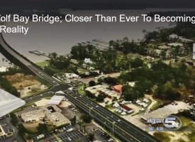 WKRG report on proposed Wolf Bay Bridge